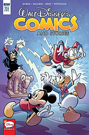 Walt Disney's Comics and Stories #731