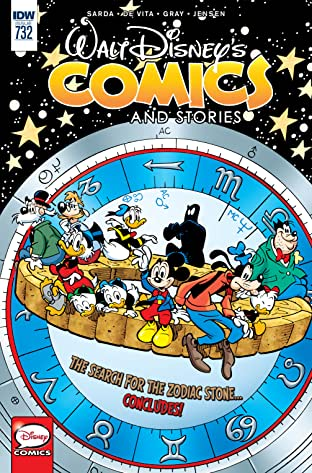 Walt Disney's Comics and Stories #732