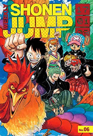 Weekly Shonen Jump Vol. 256: 01/09/2017