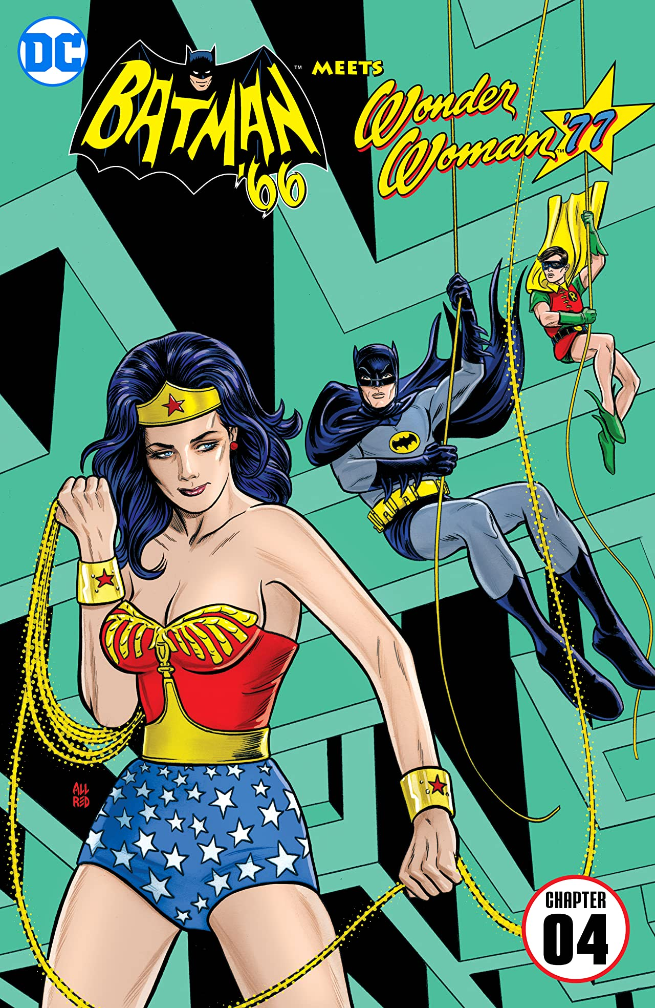 Batman '66 Meets Wonder Woman '77 (2016-2017) #4