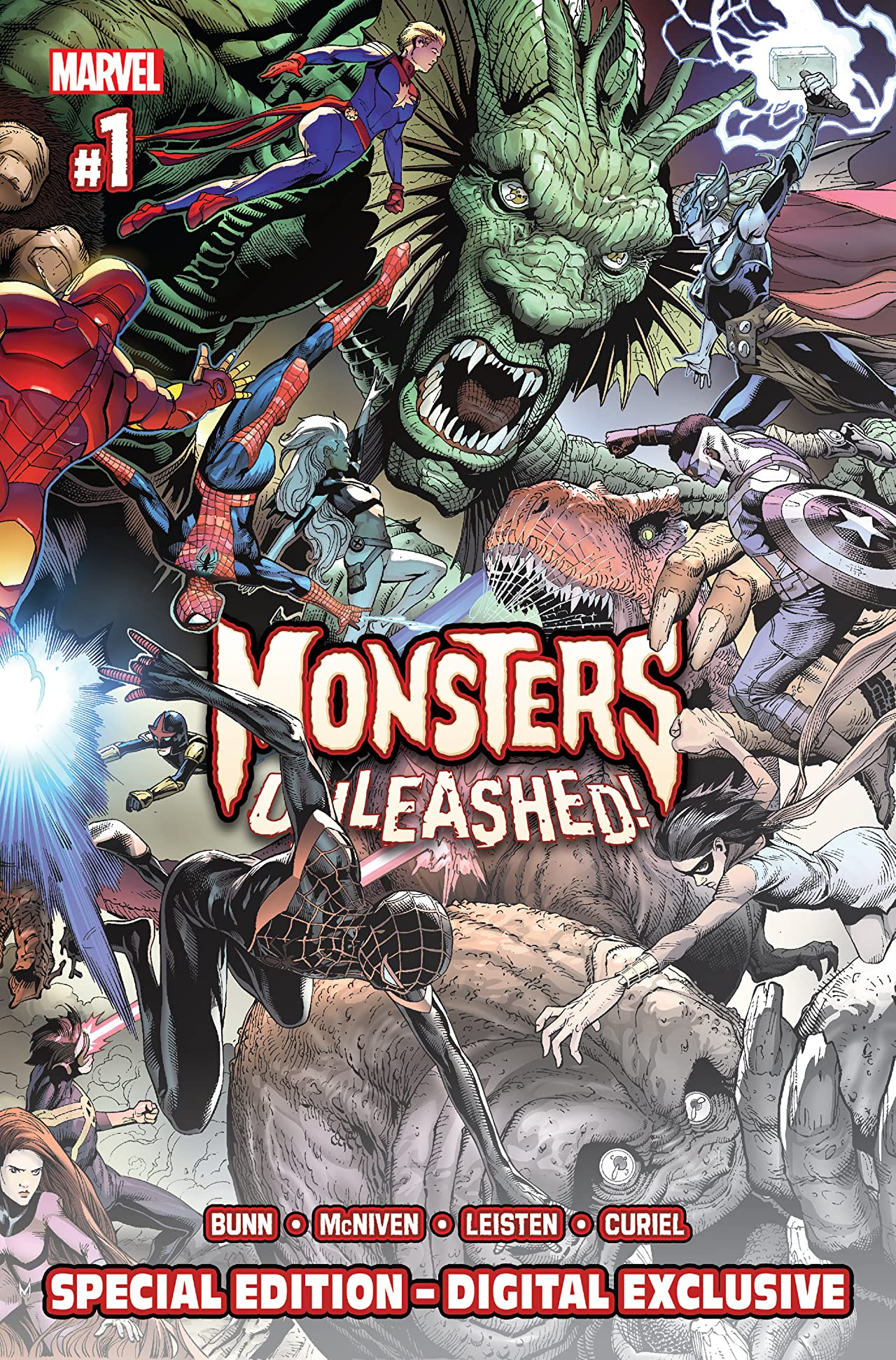 Monsters Unleashed (2017) - Special Edition #1 (of 5)