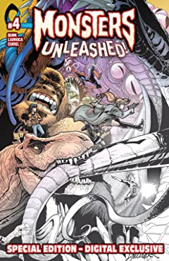 Monsters Unleashed (2017) - Special Edition #4 (of 5)