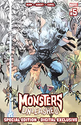 Monsters Unleashed (2017) - Special Edition No.5 (sur 5)