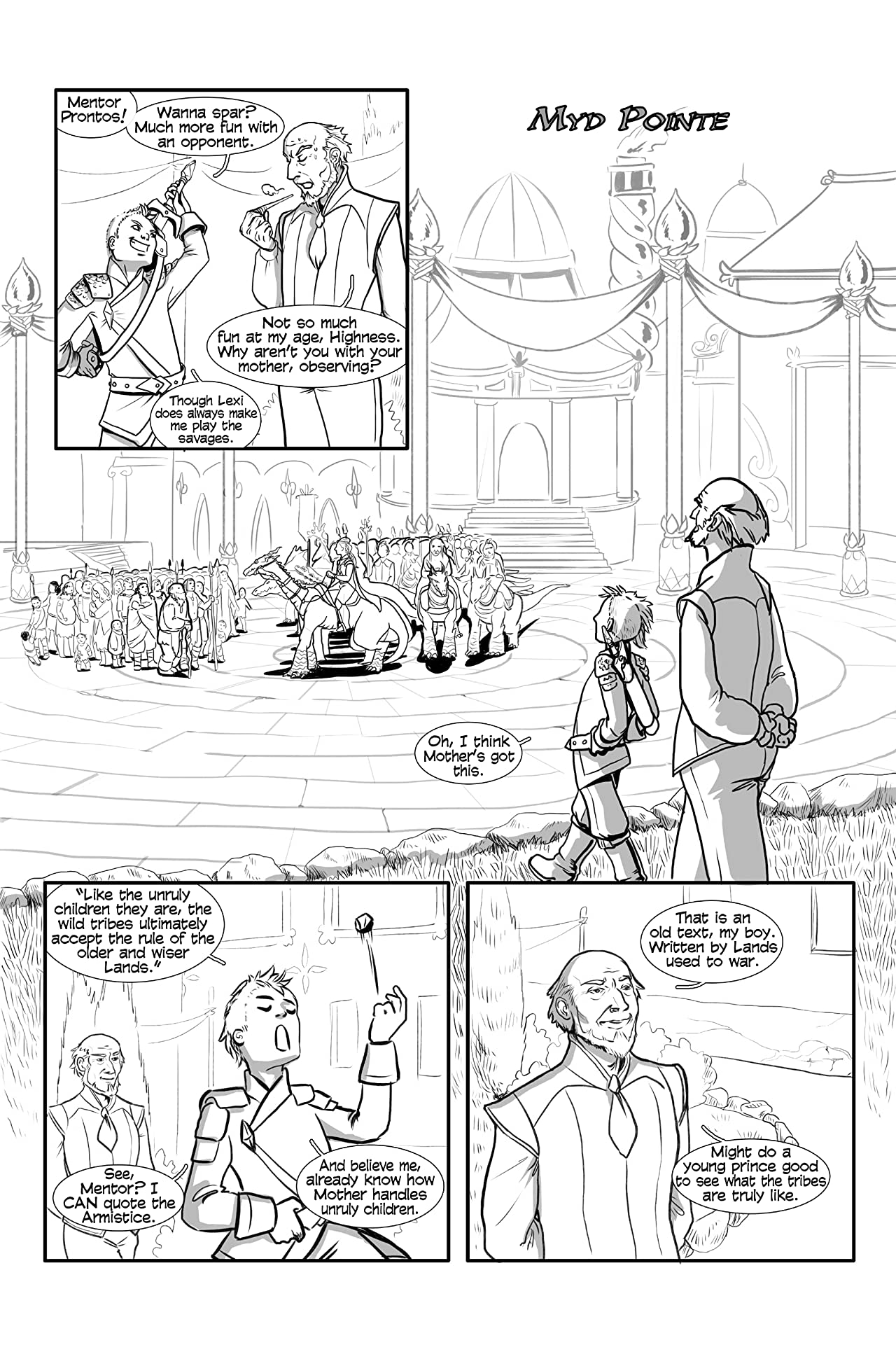Lexi & Ander: Adventures in the Middle Lands #2