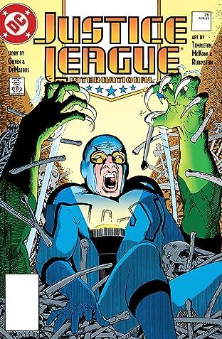 Justice League International (1987-1996) #25