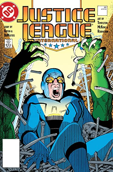 Justice League International (1987-1996) #25
