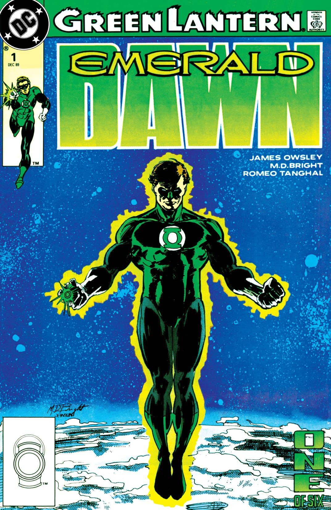 Green Lantern: Emerald Dawn (1989-1990) #1