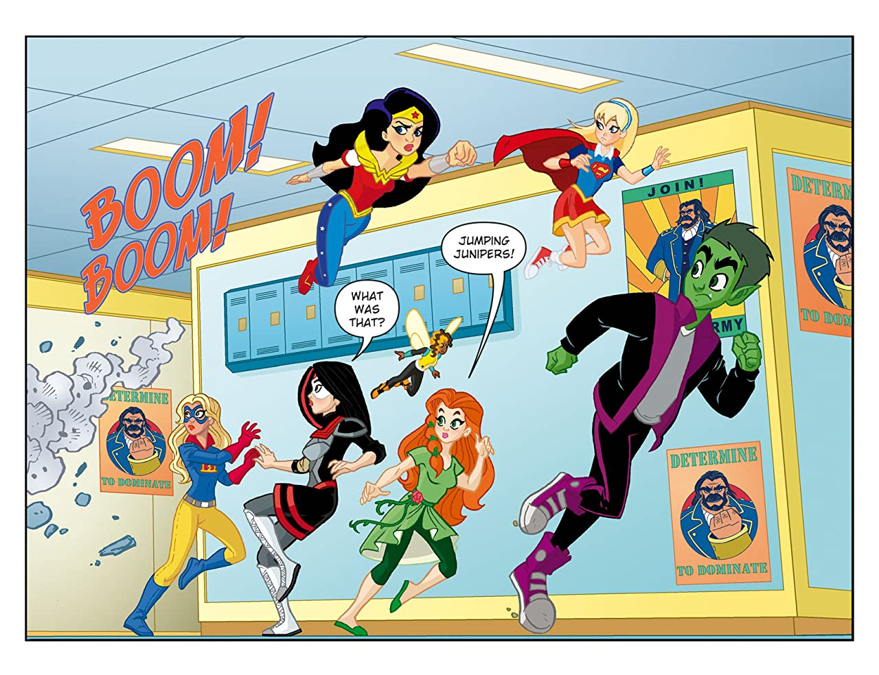 DC Super Hero Girls: Past Times at Super Hero High (2016-2017) #9