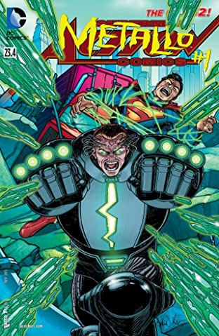Action Comics (2011-2016) No.23.4: Featuring Metallo