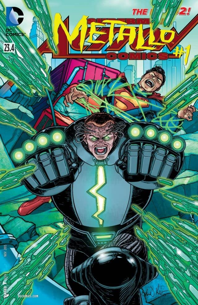 Action Comics (2011-) #23.4: Featuring Metallo
