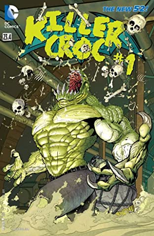 Batman and Robin (2011-2015) #23.4: Featuring Killer Croc