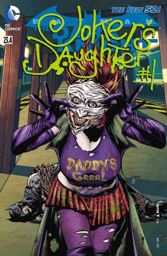Batman: The Dark Knight (2011-2014) #23.4: Featuring Joker's Daughter