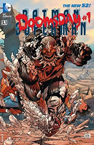 Batman/Superman (2013-2016) No.3.1: Featuring Doomsday