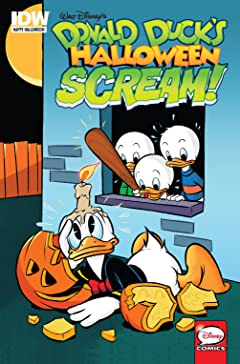 Donald Duck's Halloween Scream #1: FCBD 2015