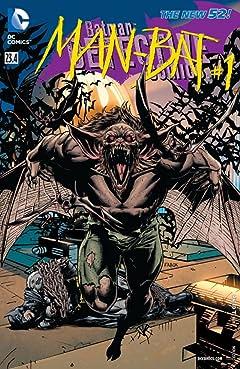 Detective Comics (2011-2016) #23.4: Featuring Man-Bat