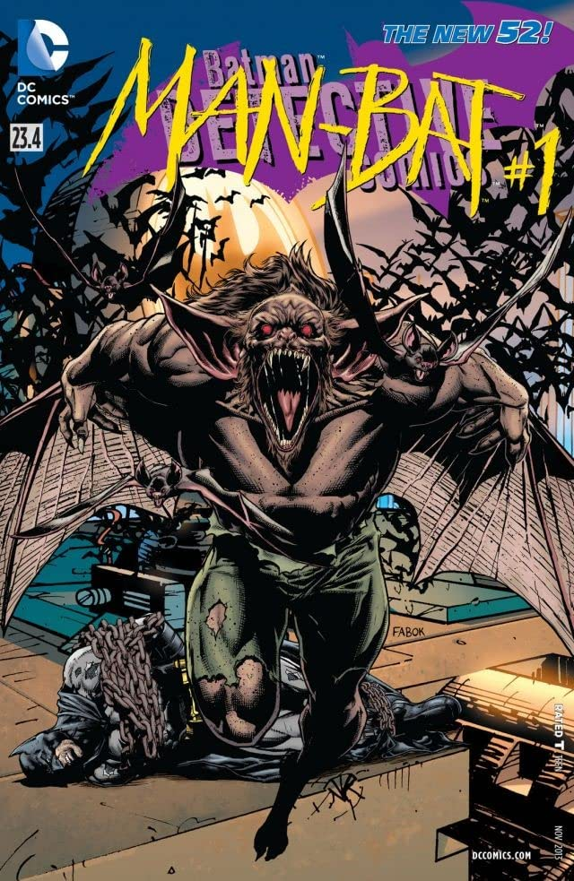 Detective Comics (2011-) #23.4: Featuring Man-Bat