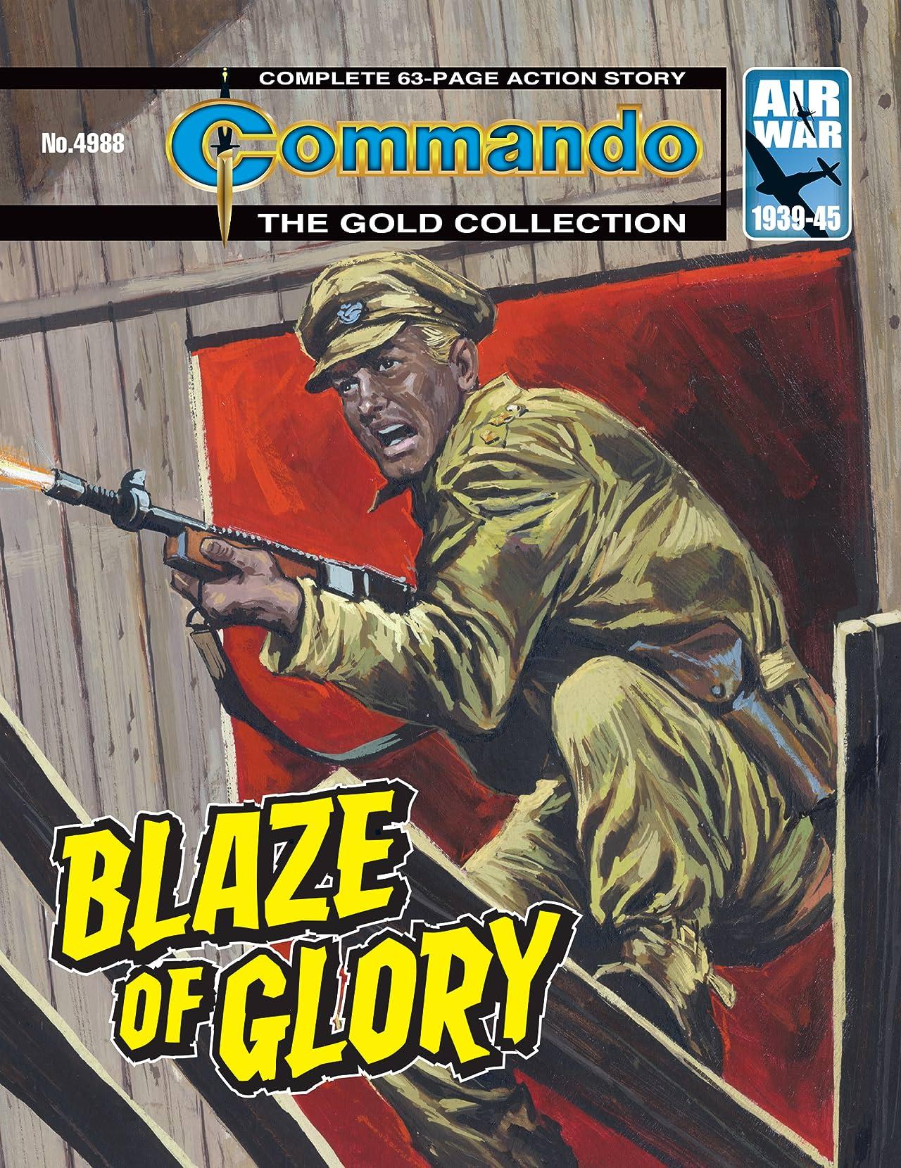 Commando #4988: Blaze Of Glory