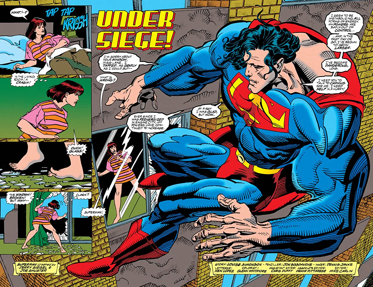 Superman: The Man of Steel (1991-2003) #33