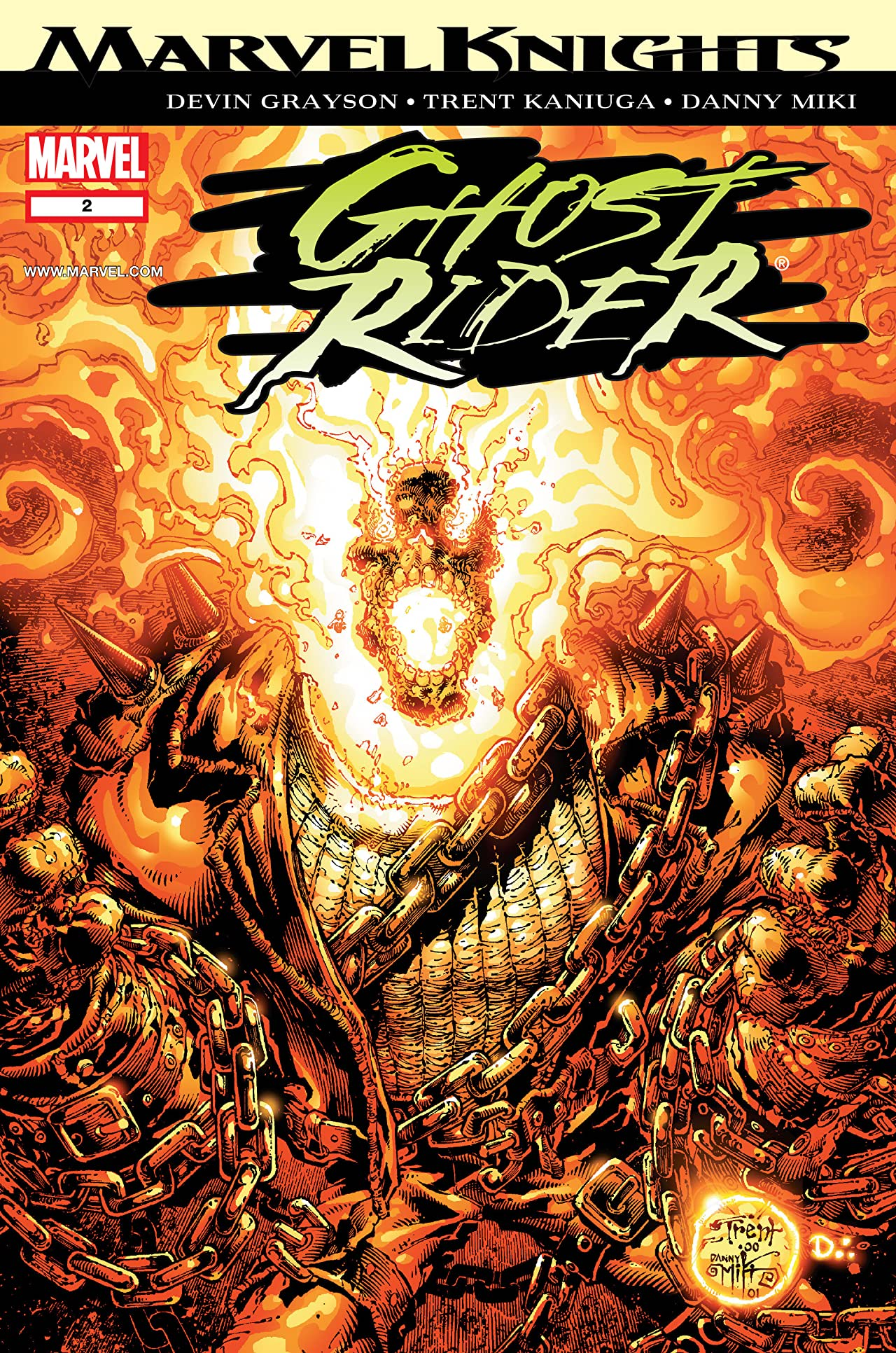 Ghost Rider (2001) #2 (of 6)