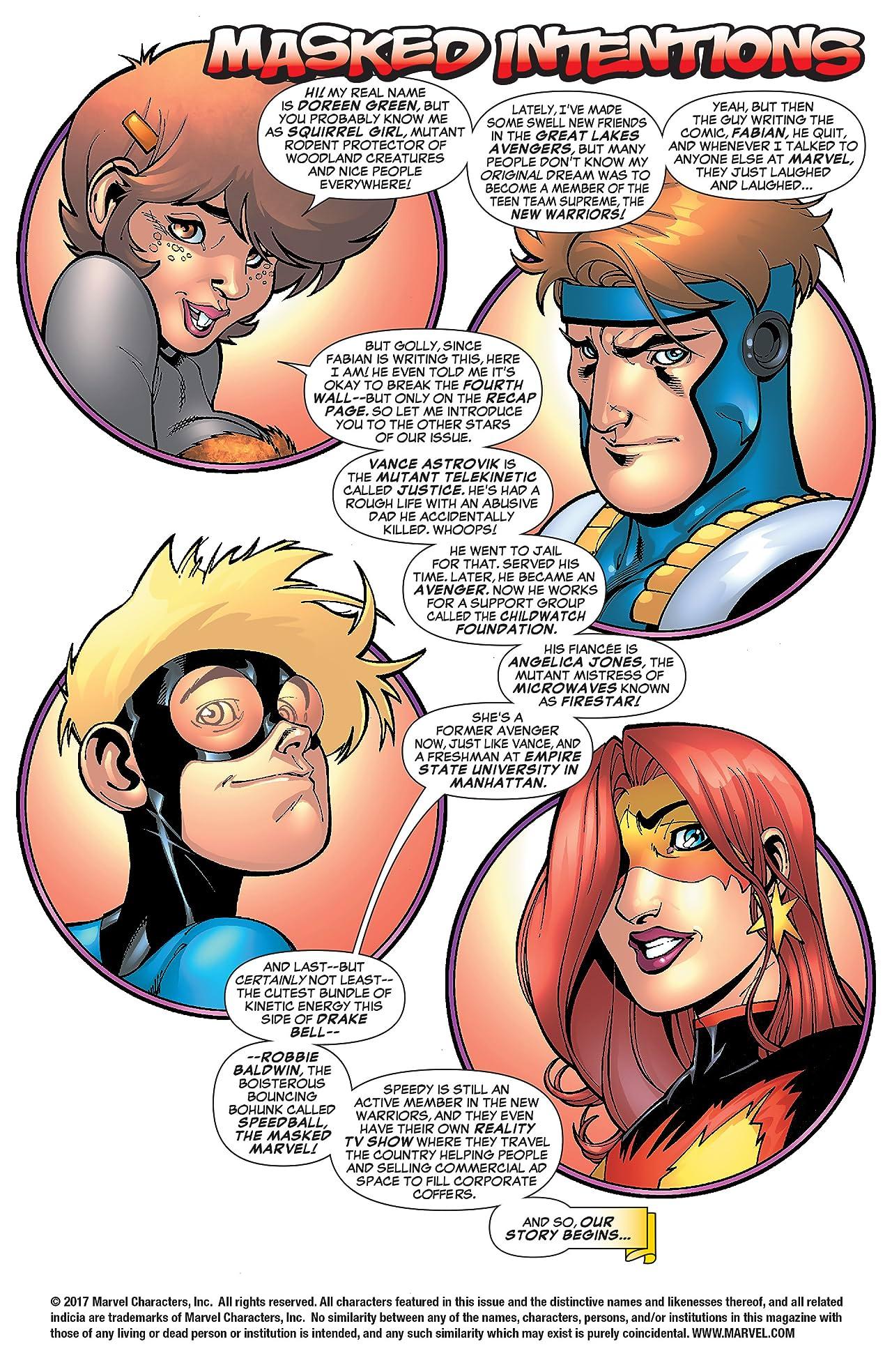 I (heart) Marvel (2006): Masked Intentions #1