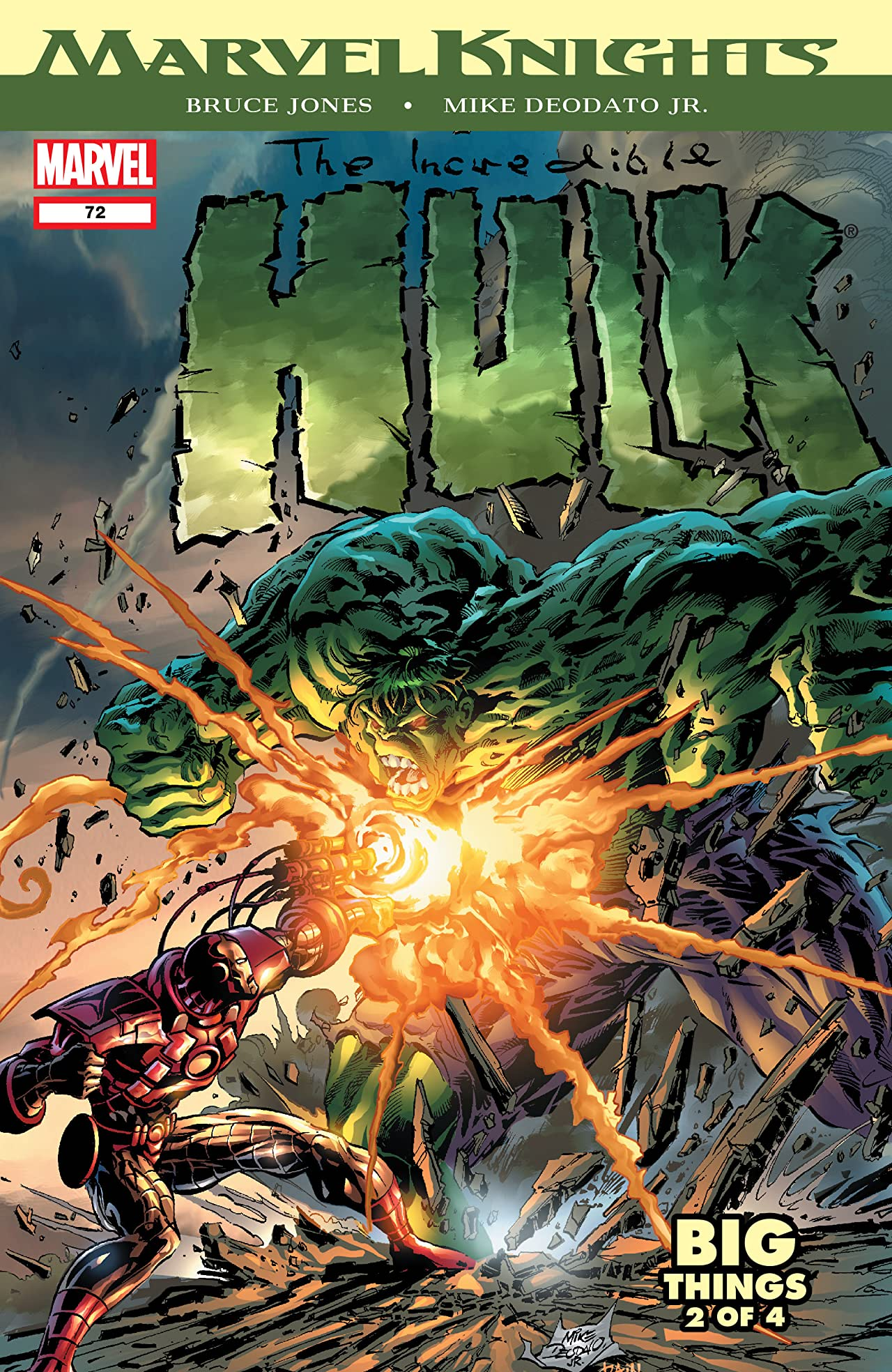 Incredible Hulk (1999-2008) #72