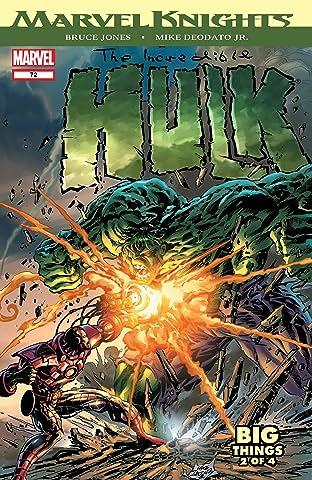 Incredible Hulk (1999-2008) #72