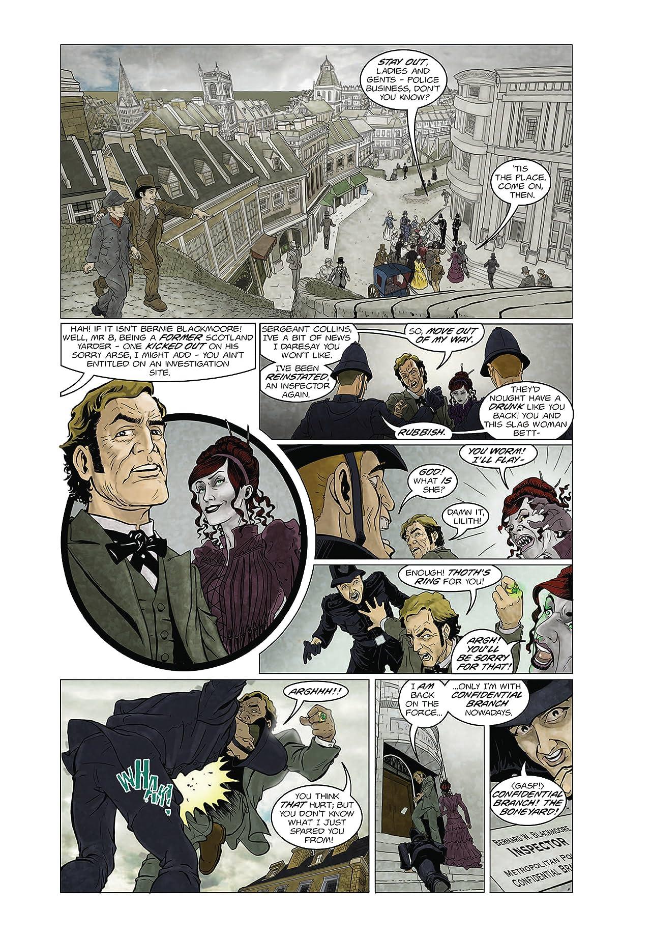 Sherlock Holmes Dark Detective #4