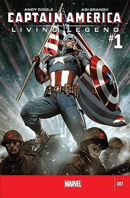 Captain America: Living Legend No.1 (sur 4)