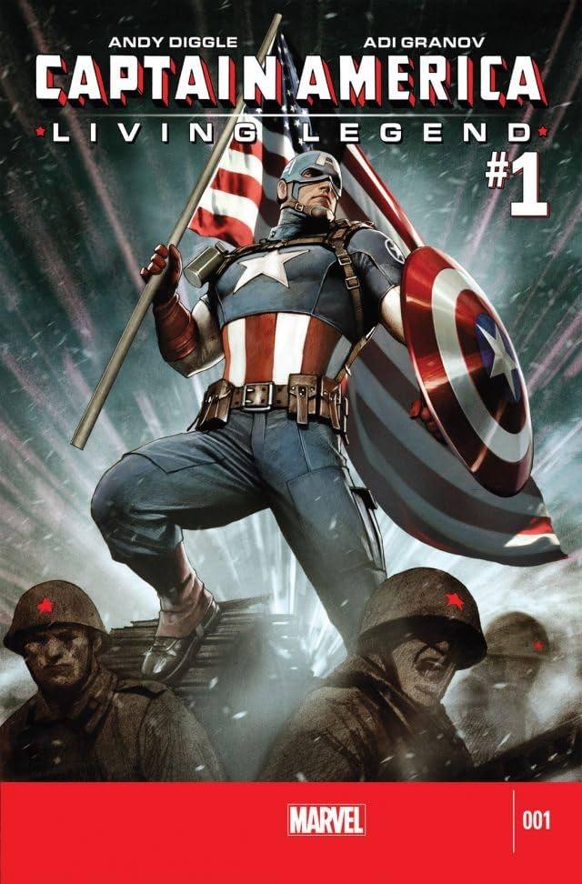 Captain America: Living Legend #1 (of 4)