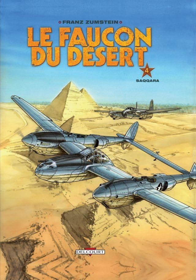 Le Faucon du désert Vol. 4: Saqqara