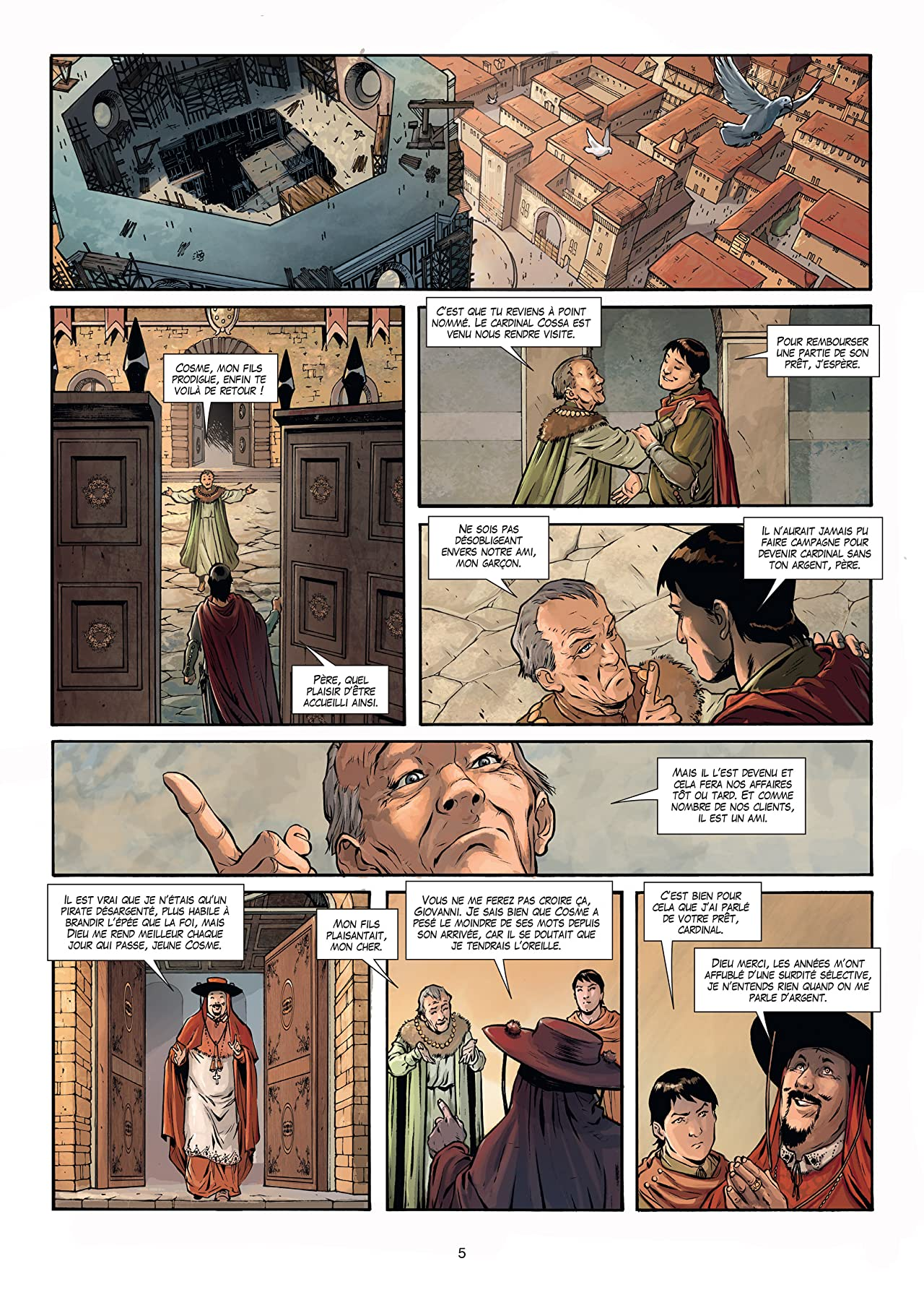 Médicis Vol. 1: Cosme L'ancien - De la boue au marbre