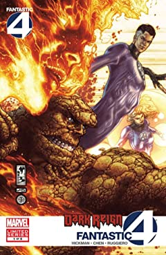 Dark Reign: Fantastic Four No.1 (sur 5)