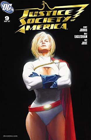 Justice Society of America (2007-2011) No.9