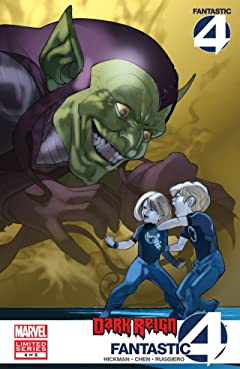 Dark Reign: Fantastic Four No.4 (sur 5)