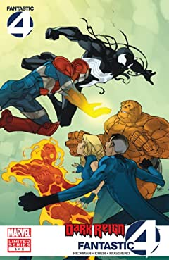 Dark Reign: Fantastic Four No.5 (sur 5)