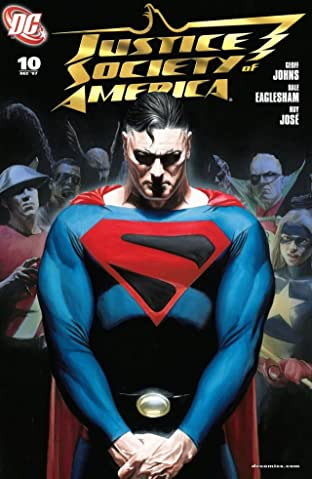 Justice Society of America (2007-2011) No.10