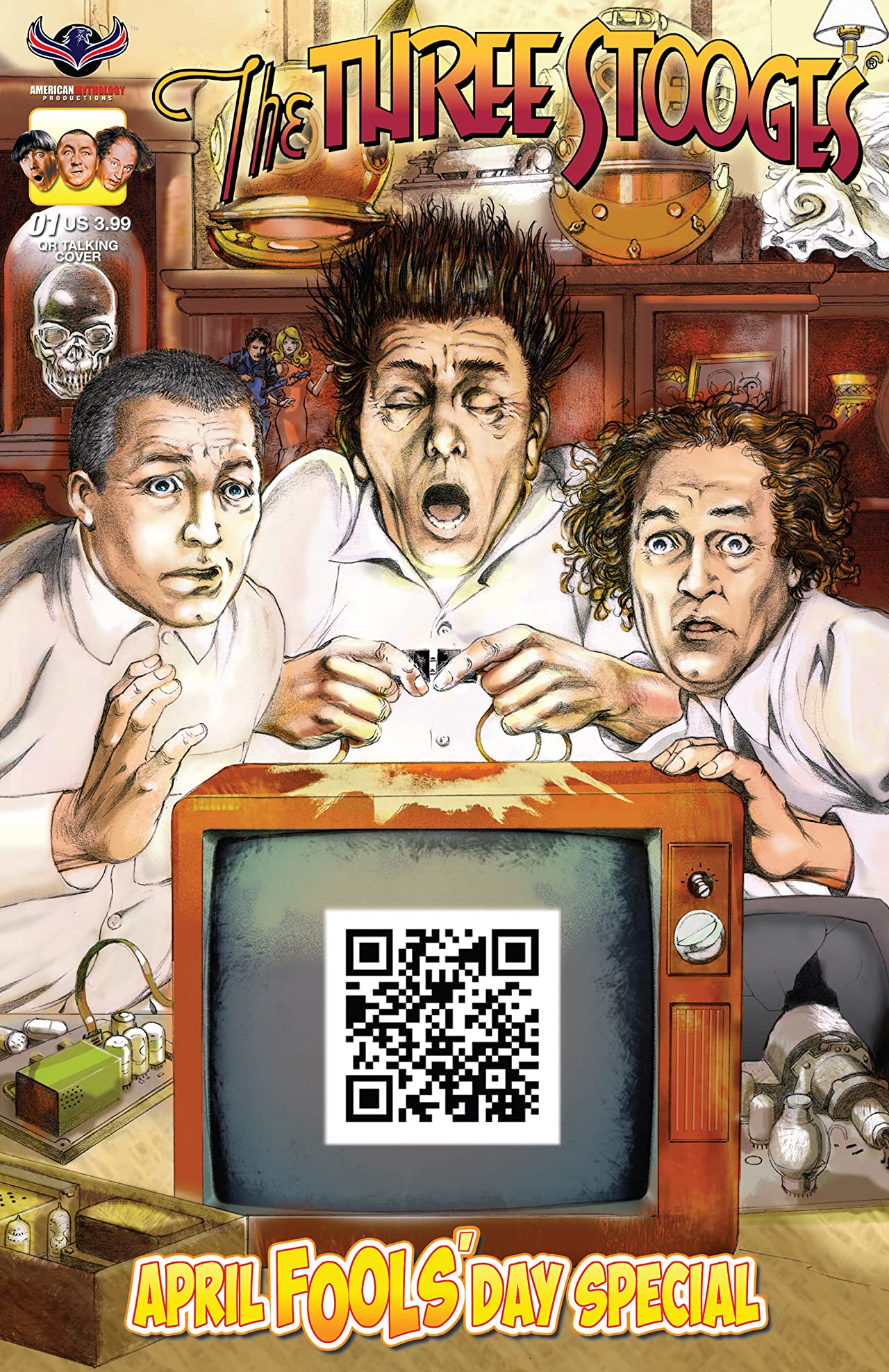 The Three Stooges: April Fools' Day Special #1