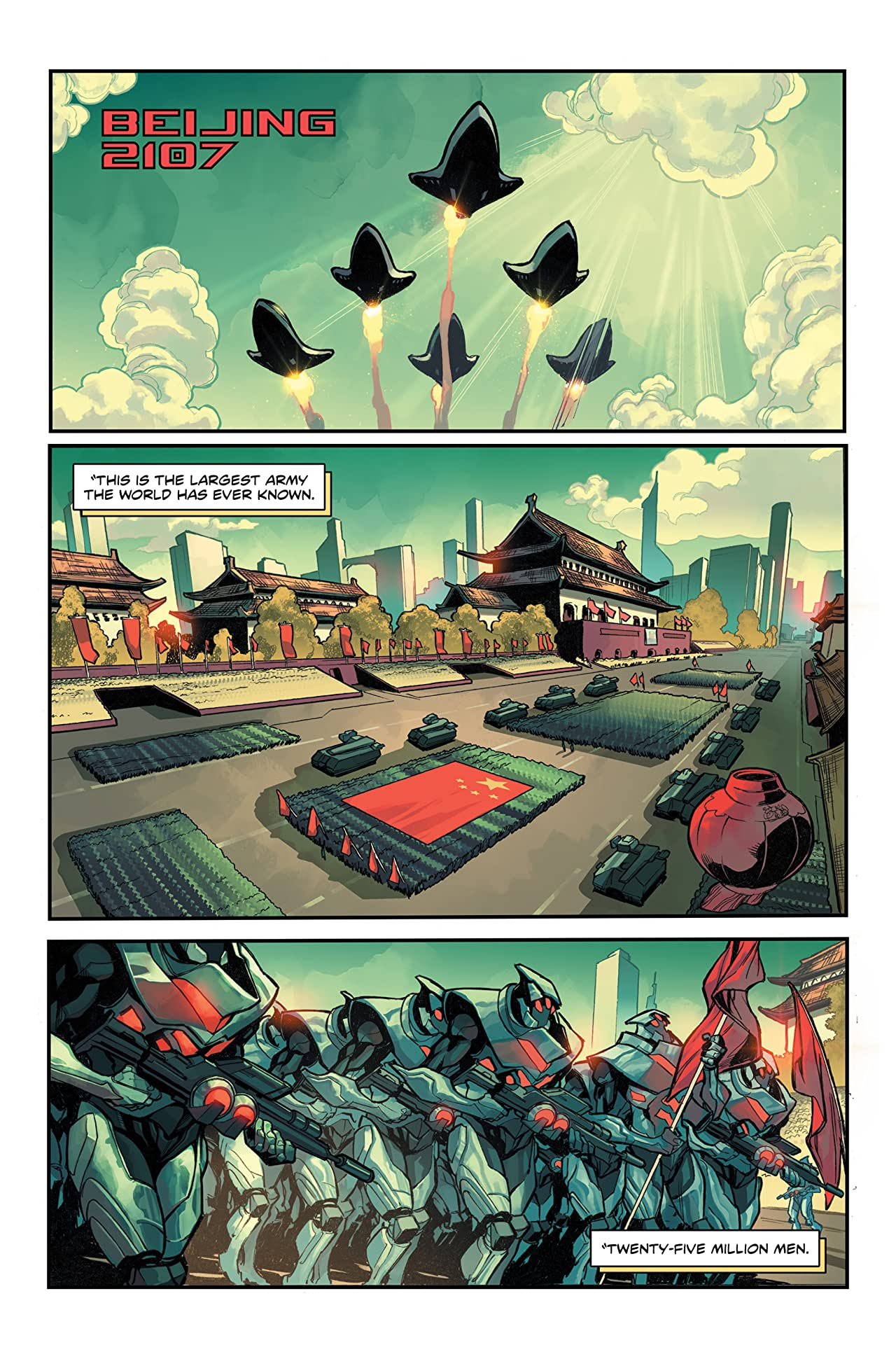Black Lotus Empire #1