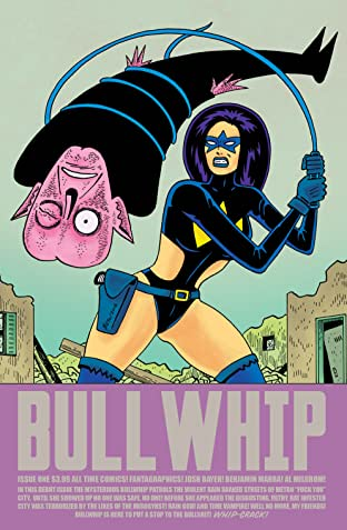 All Time Comics: Bullwhip No.1