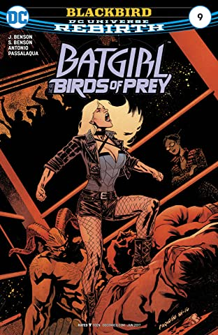 Batgirl and the Birds of Prey (2016-) No.9