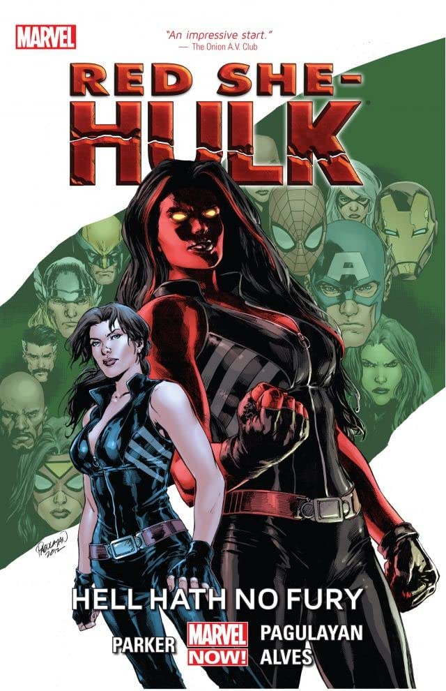 Red She-Hulk: Hell Hath No Fury