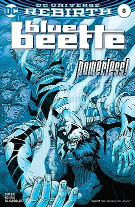 Blue Beetle (2016-2018) #8
