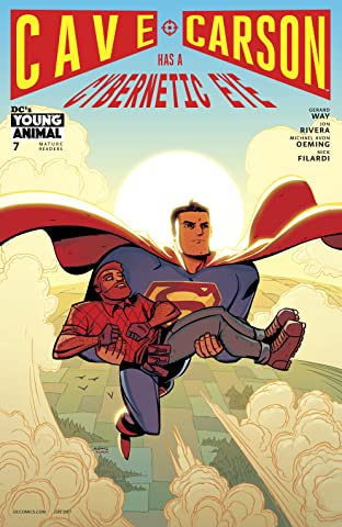 Cave Carson Has a Cybernetic Eye (2016-2017) #7