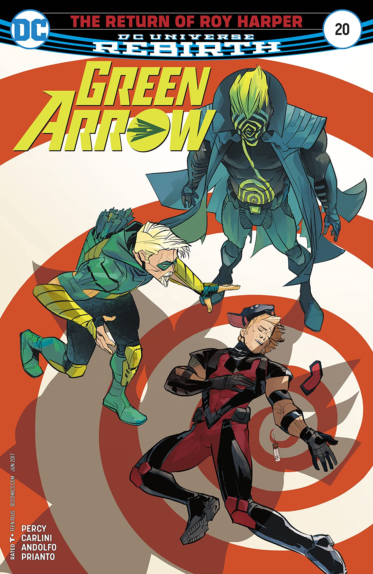 Green Arrow (2016-) #20