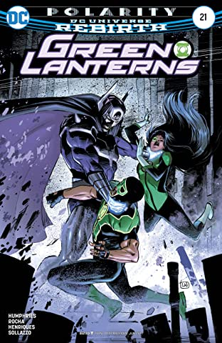 Green Lanterns (2016-) No.21