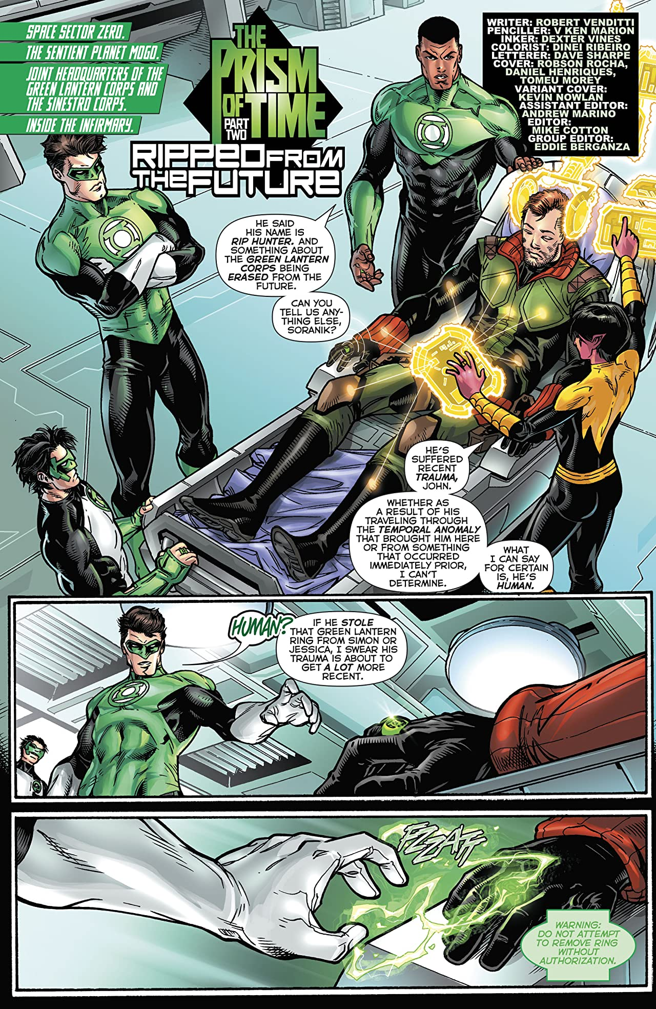 Hal Jordan and The Green Lantern Corps (2016-) #19