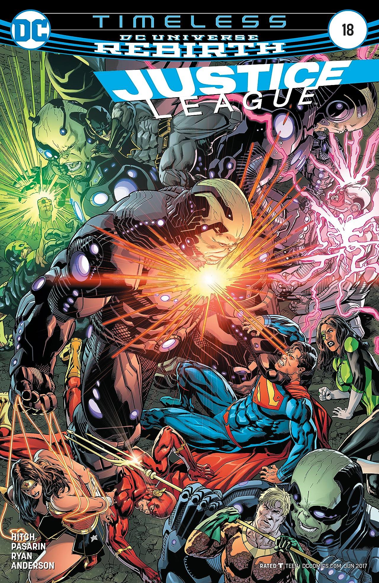 Justice League (2016-) #18