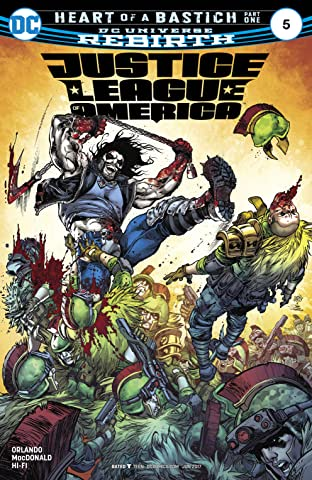 Justice League of America (2017-) #5