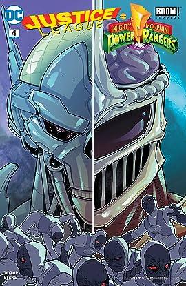 Justice League/Power Rangers (2017) #4