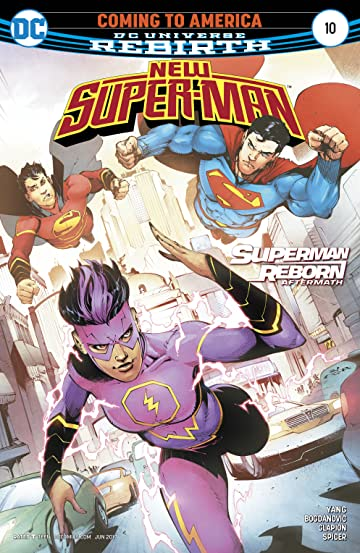 New Super-Man (2016-) #10